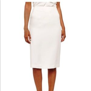 Calvin Klein natural white creamish skirt.